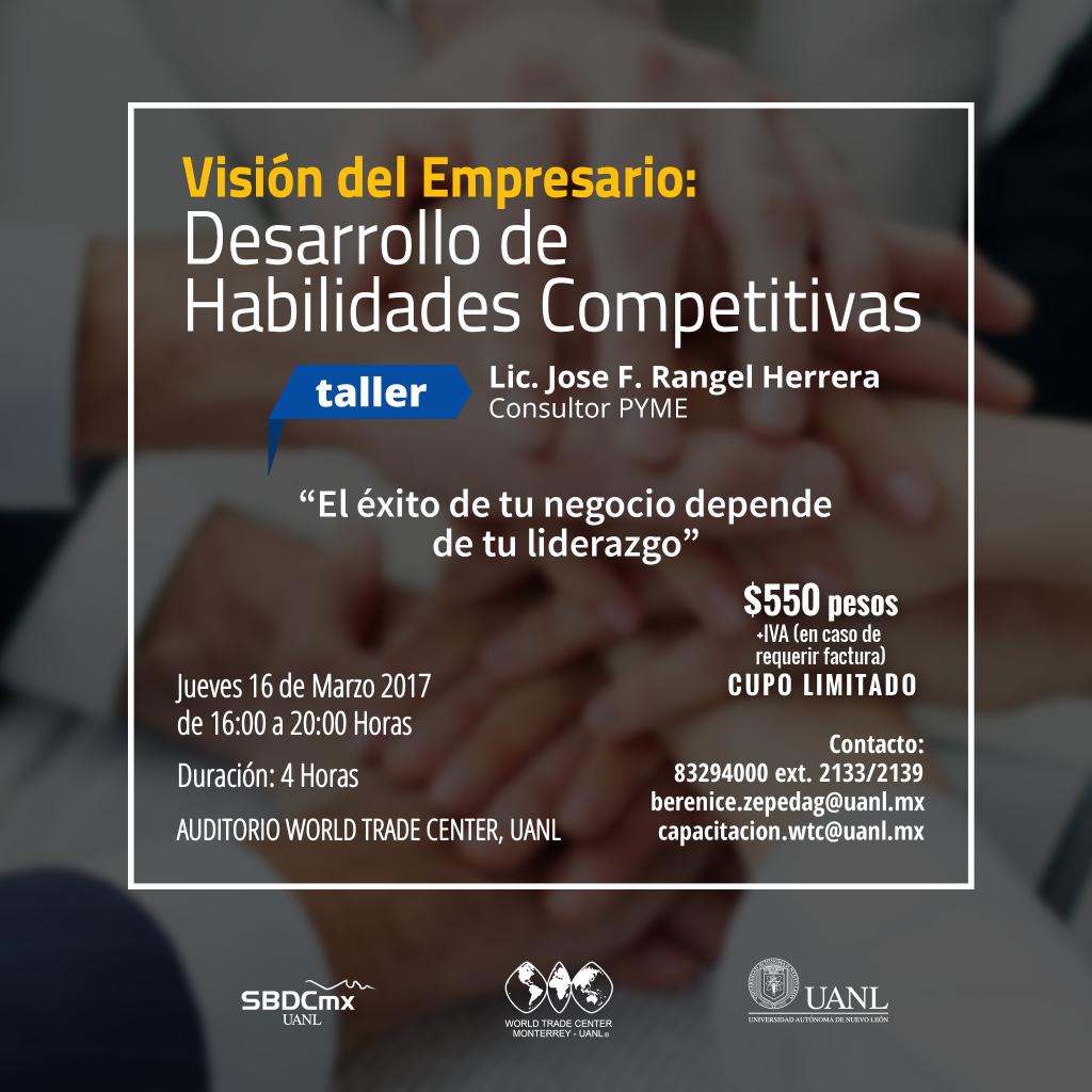 Visión del Empresario: Desarrollo de Habilidades Competitivas