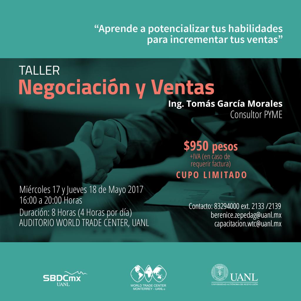 Taller: Negociación y Ventas