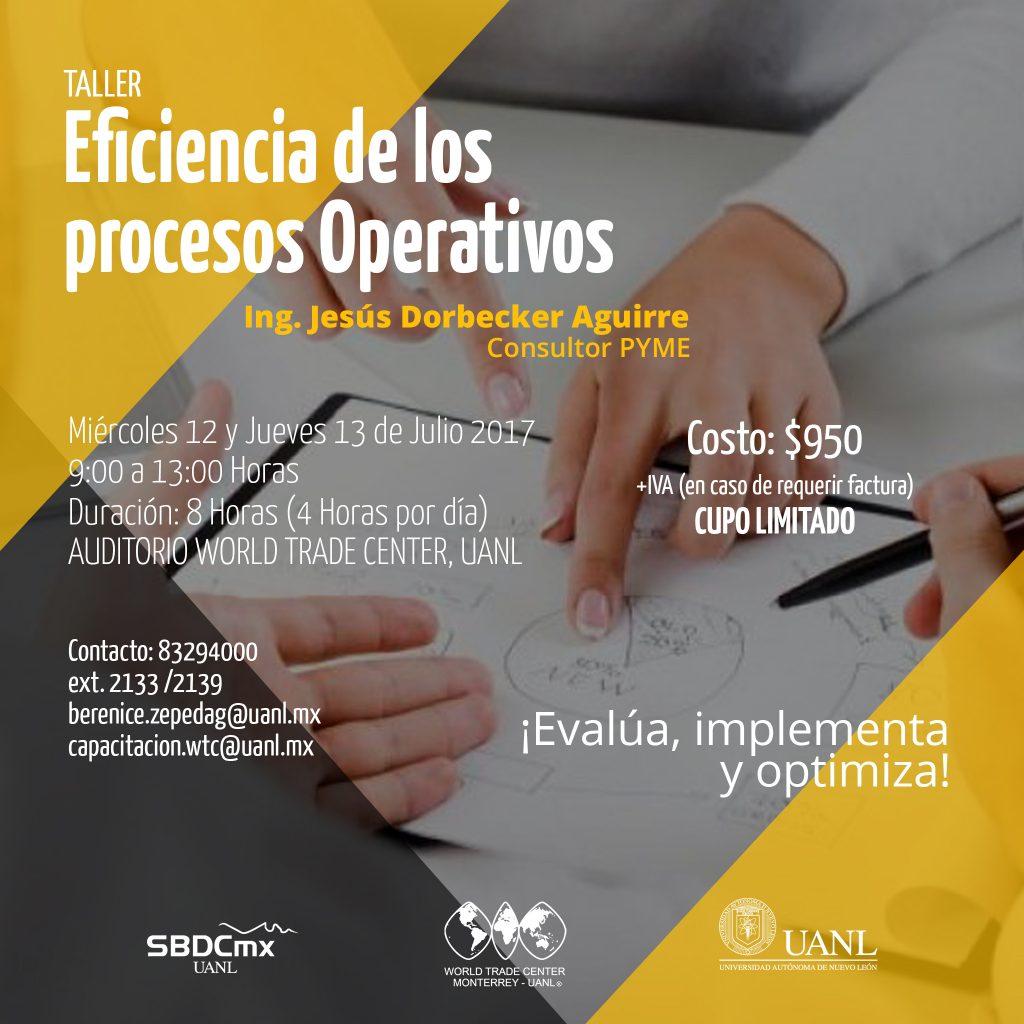 Eficiencia de los Procesos Operativos