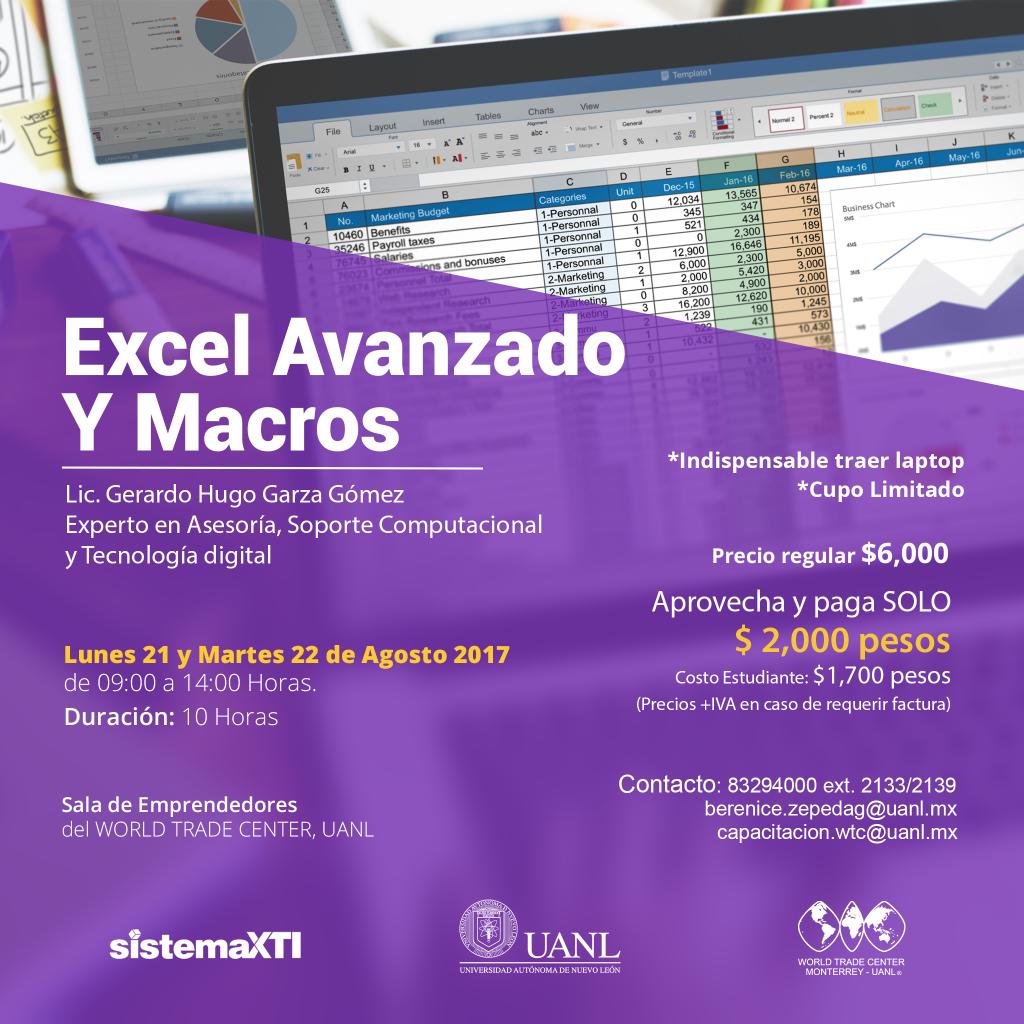 Excel Avanzado y Macros