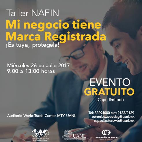 Nafin: Mi Negocio tiene marca Registrada