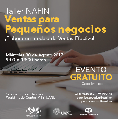 Taller NAFIN: Ventas para Pequeños Negocios