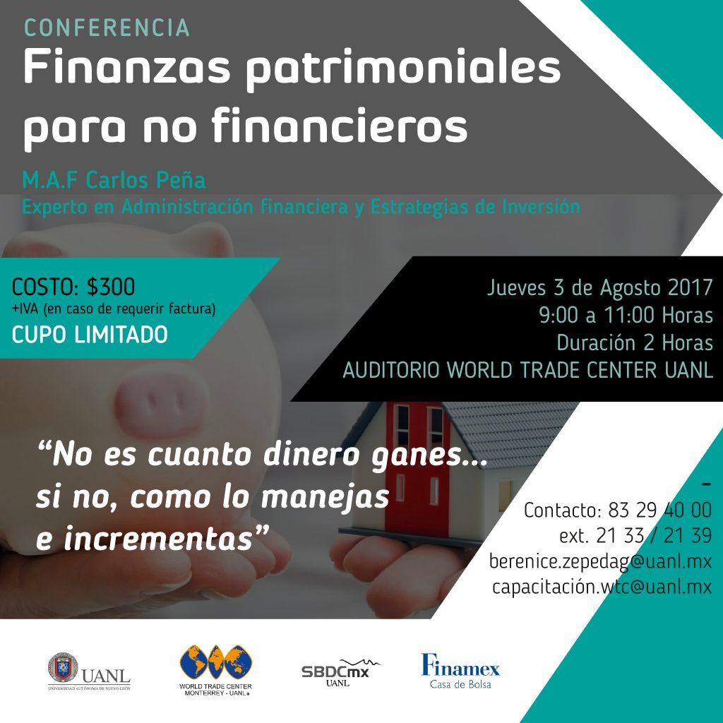 Finanzas Patrimoniales para no Financieros
