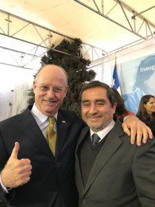 Con Bernardo Troncoso Lider del SERCOTEC
