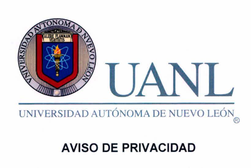 AVISO PRIVACIDAD UANL Click aquí