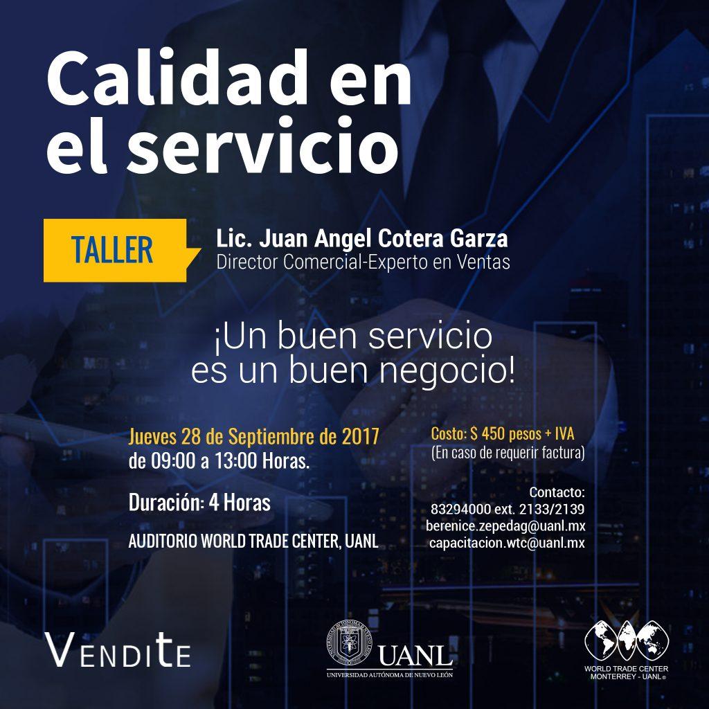 TALLER: Calidad en el Servicio