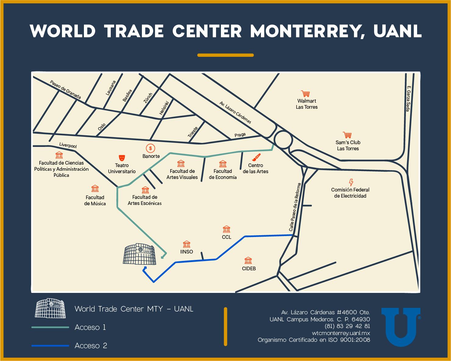 Croquis WTC Monterrey UANL