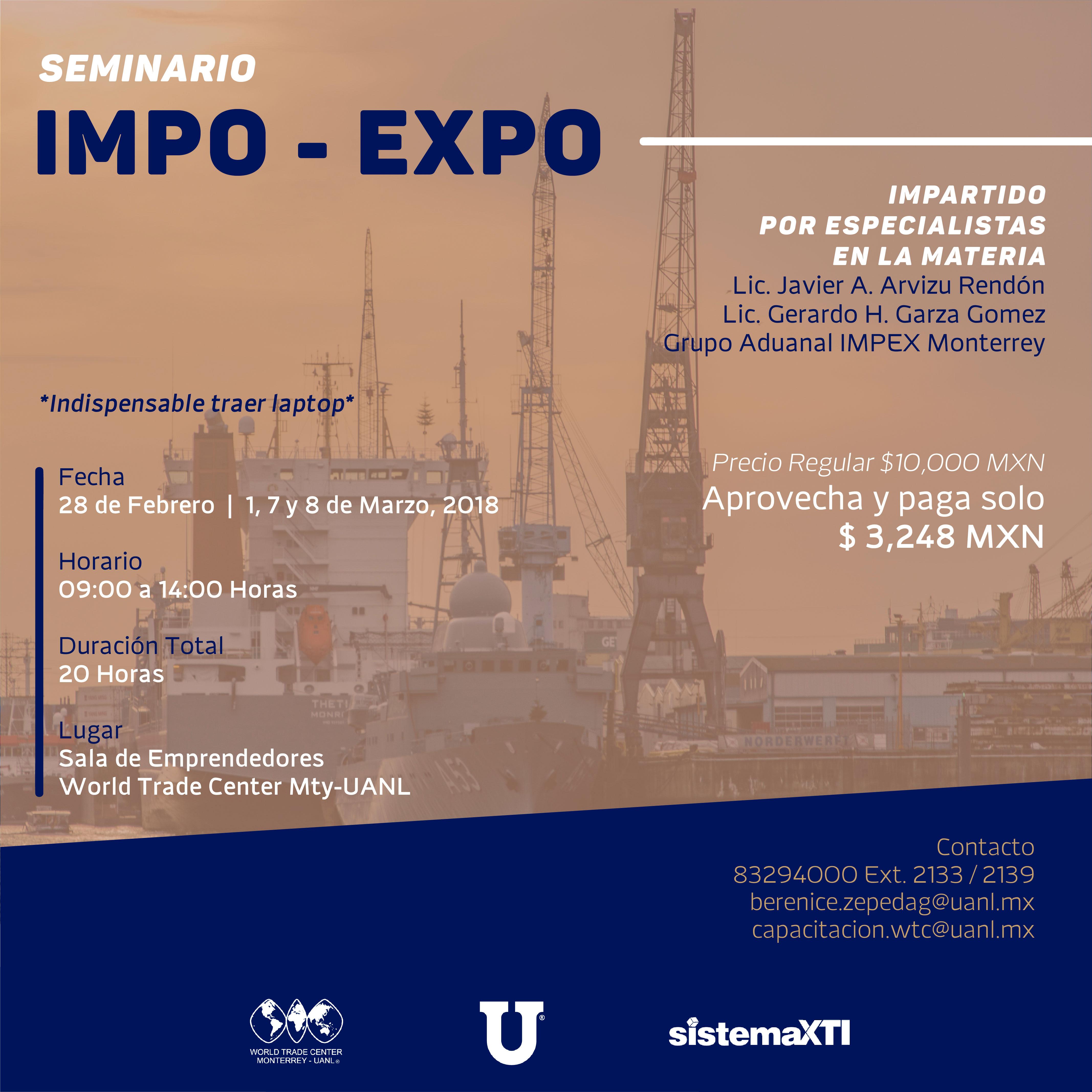 Seminario en Impo-Expo