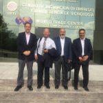 Visita del Sr. Alberto Mestas, consultor de la Corporación Andina de Fomento CAF.