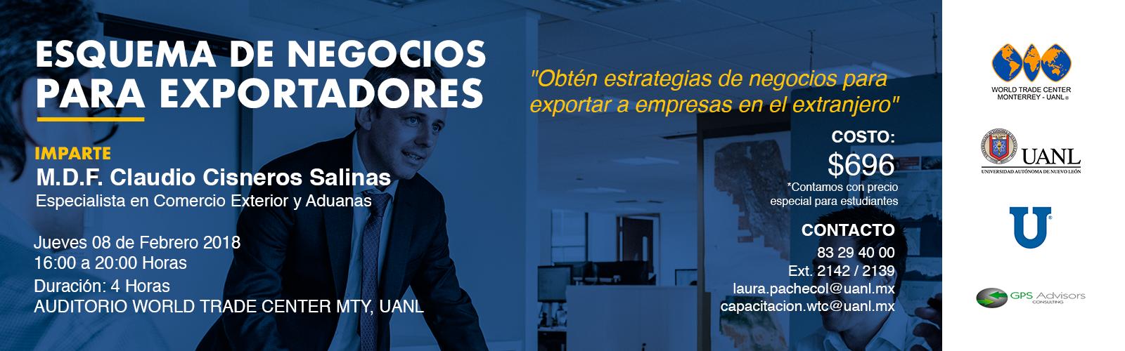 TALLER: ESQUEMA DE NEGOCIOS PARA EXPORTADORES