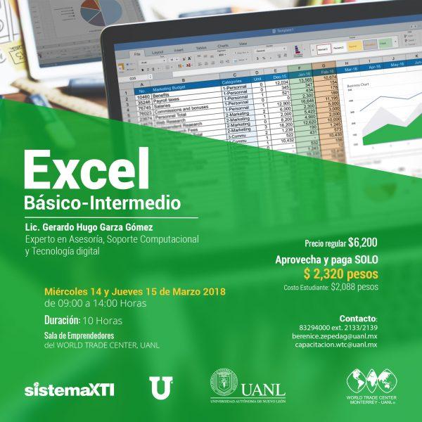 Excel Básico-Intermedio