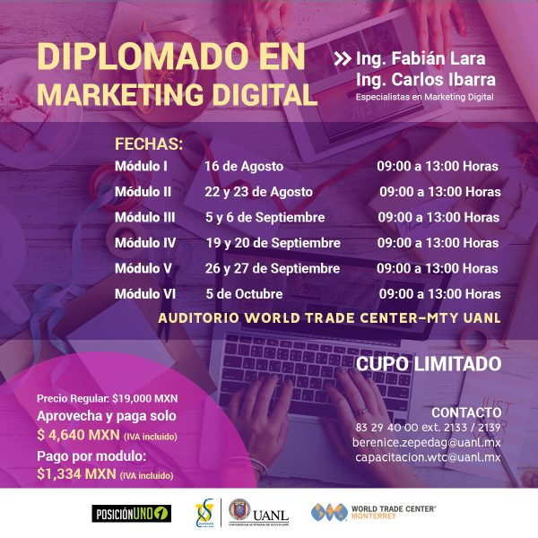 DIPLOMADO EN MARKETING DIGITAL 2018