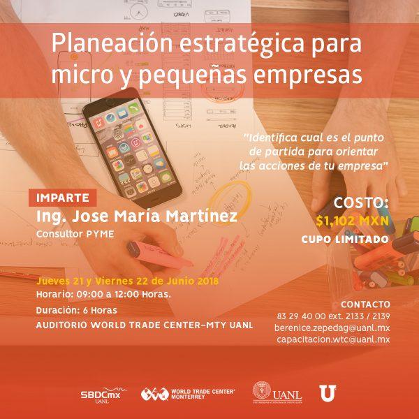 Planeación Estratégica para Micro y Pequeñas Empresas