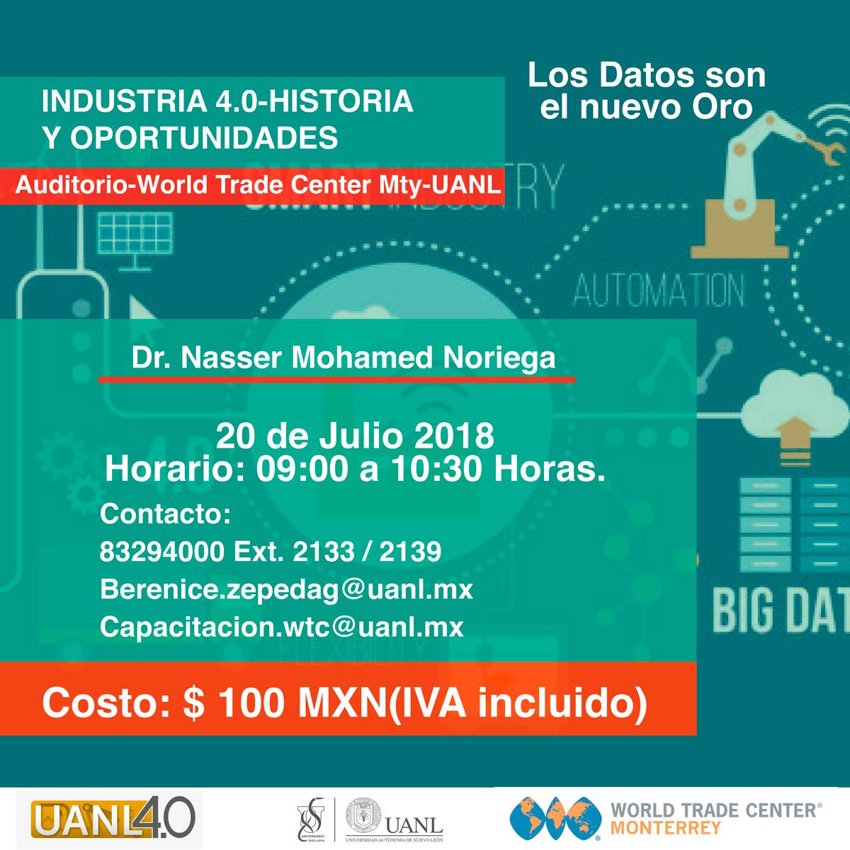 Industria 4.0-Historia y Oportunidades