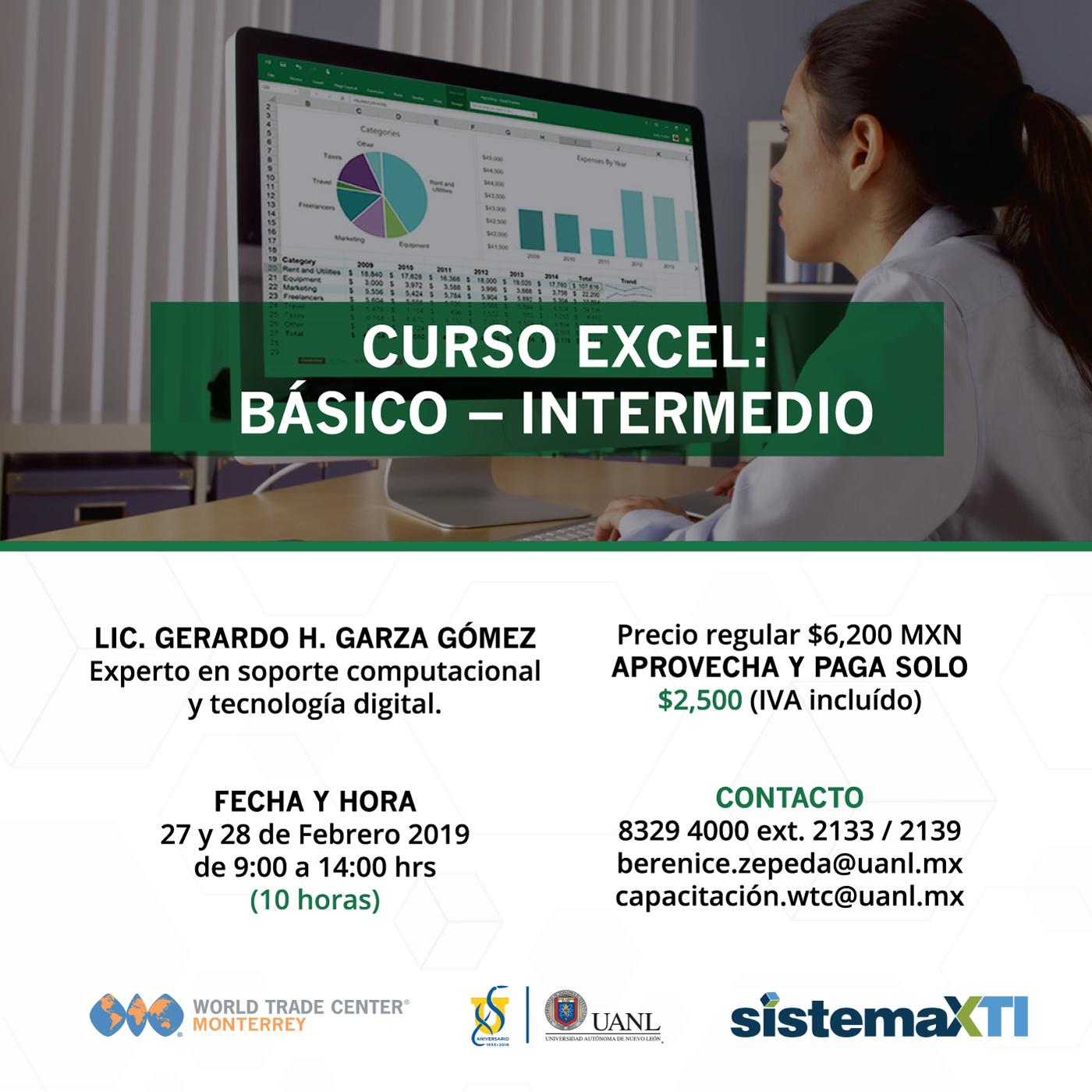 Taller: Excel Básico Intermedio
