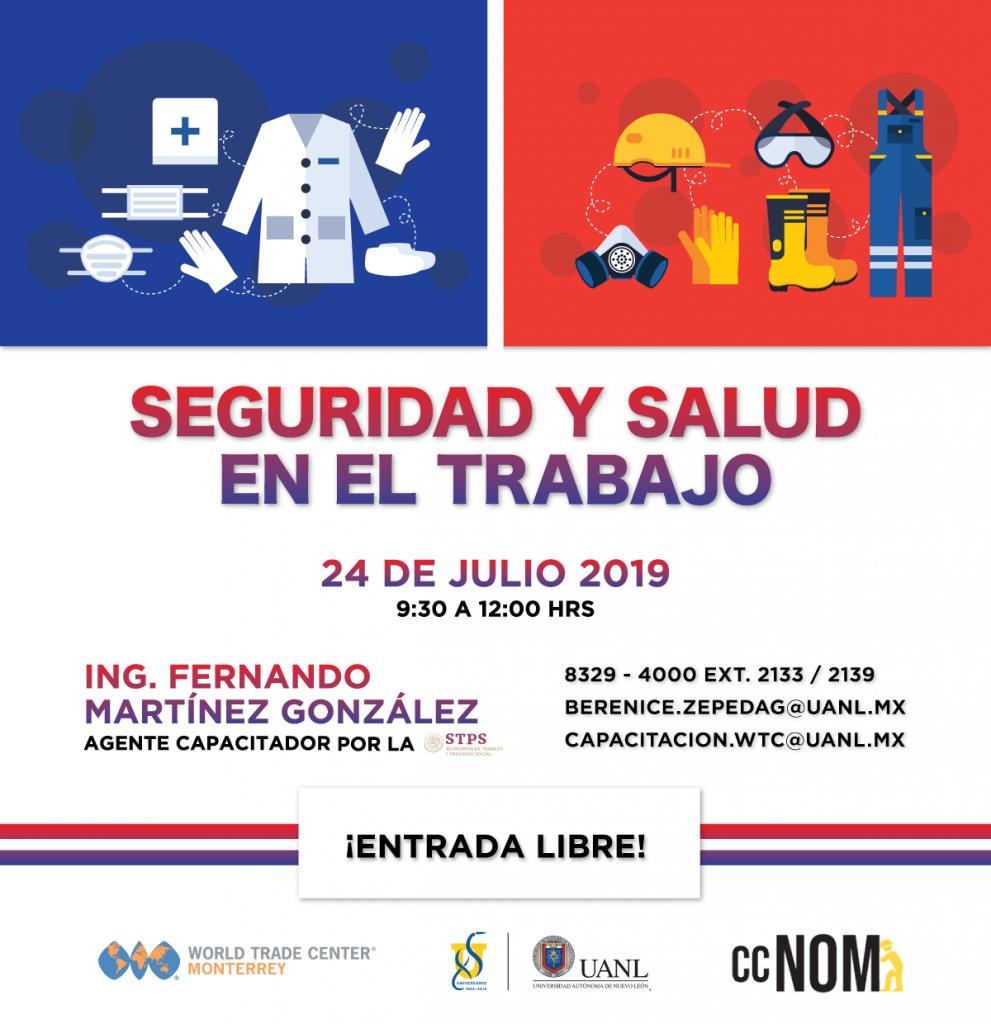 Conferencia: Seguridad y Salud en el Trabajo