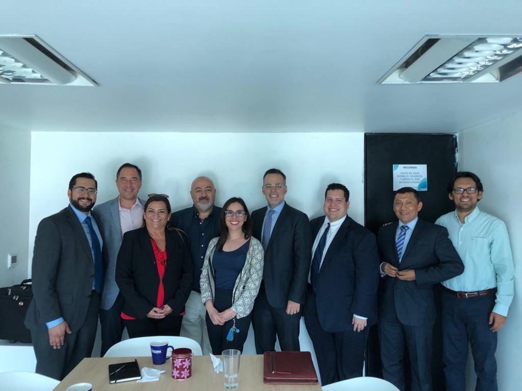 Reunión con la embajada de EE.UU. en México