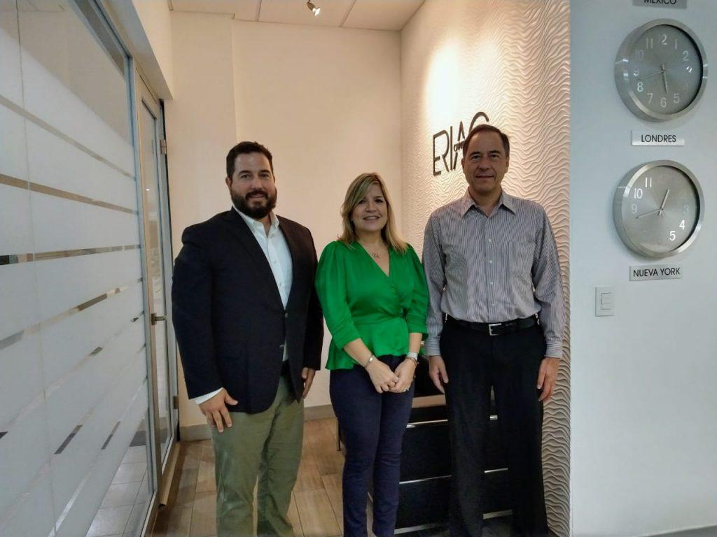 Se reúne Instituto para el Adulto Mayor con ERIAC