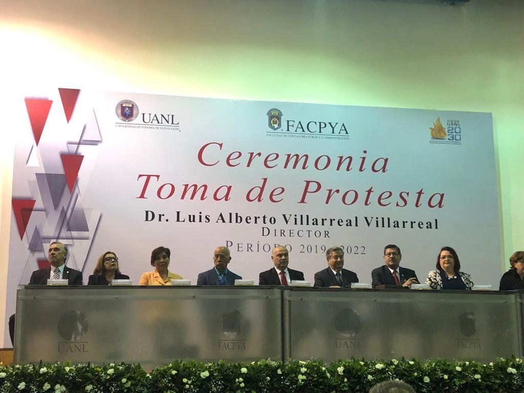 Toma de protesta Dr. Luis Alberto Villarreal