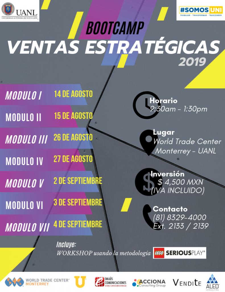 BootCamp Ventas Estrategicas 2019