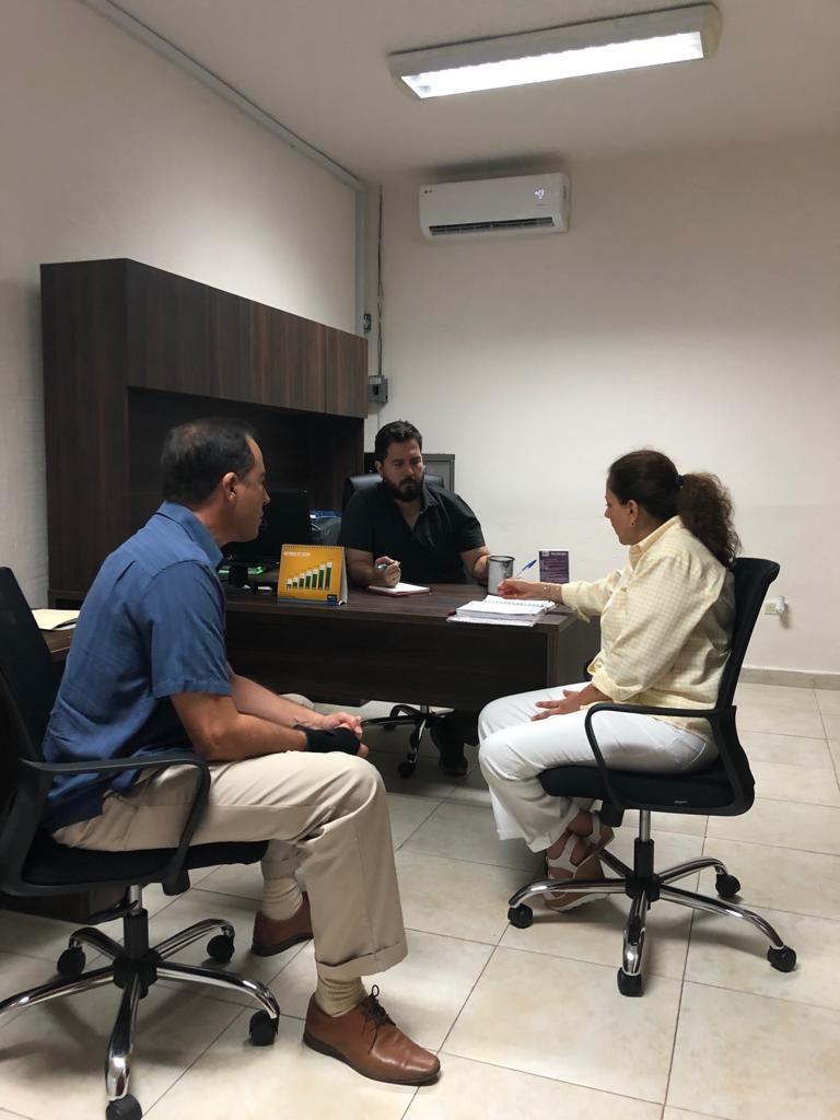 Reunión con el Instituto del Adulto Mayor