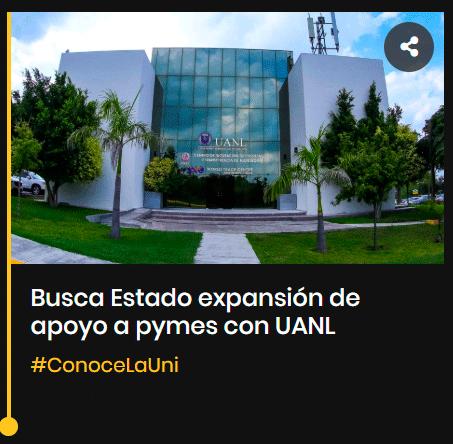 Busca Estado expansión de apoyo a pymes con UANL