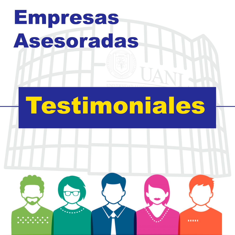 Testimonios de Empresas Asesoradas