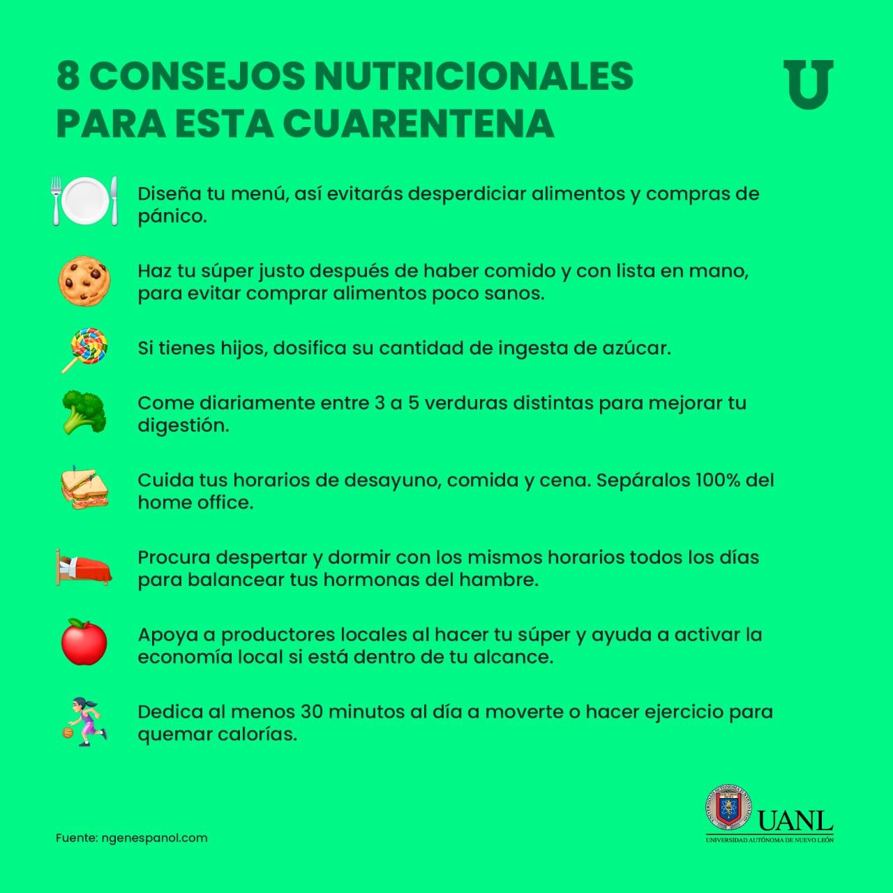 Consejos Nutricionales