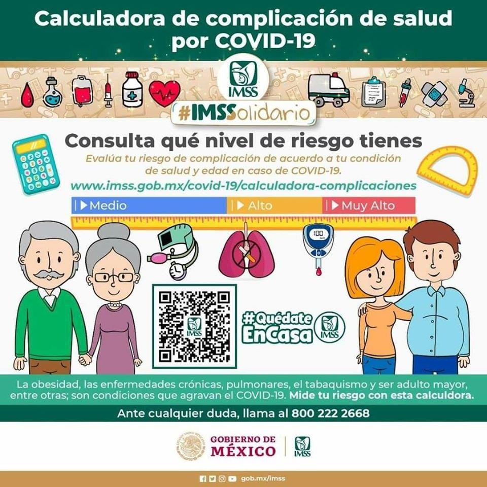 Calculadora de complicaciones de salud por Covid-19