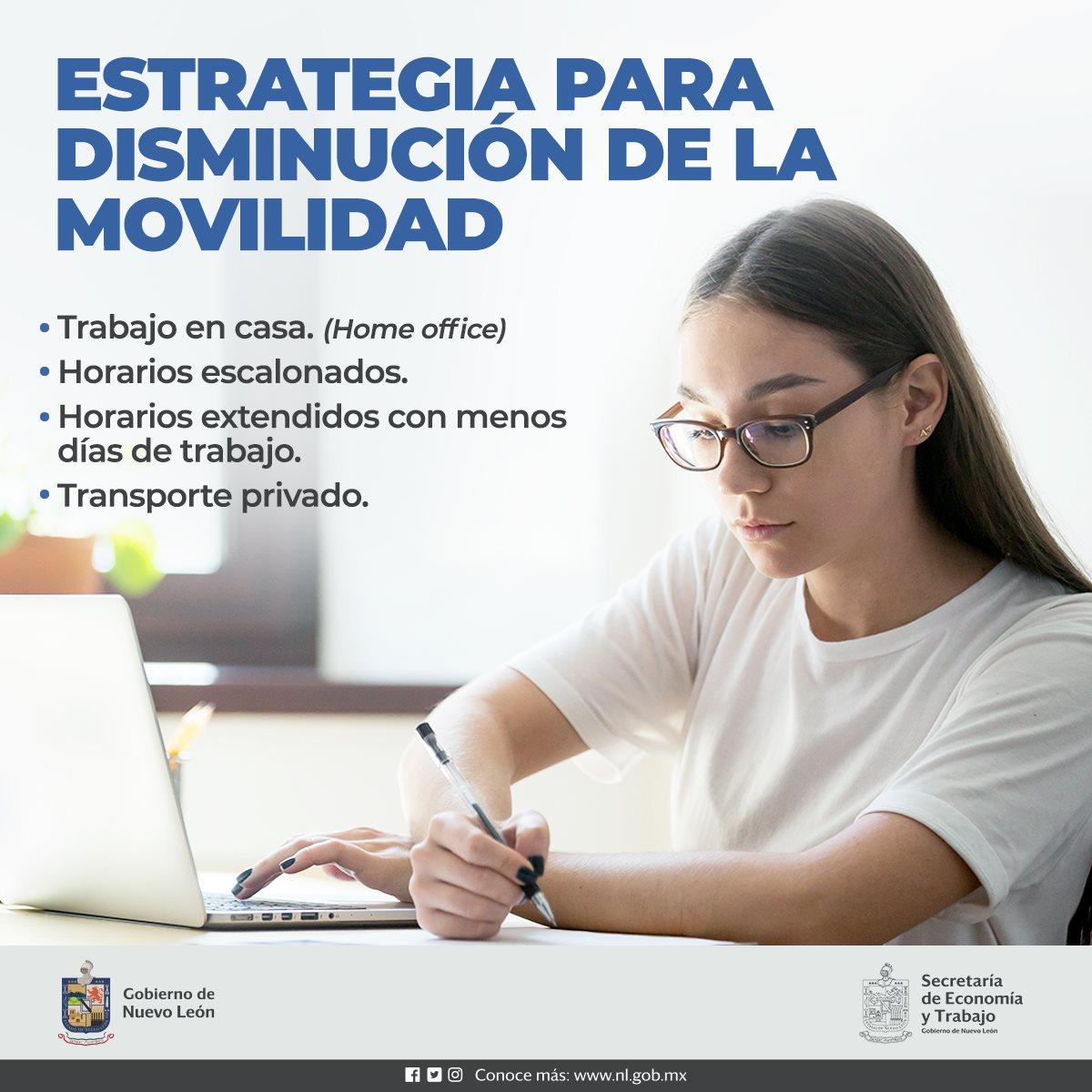 Estrategia para disminución de la movilidad