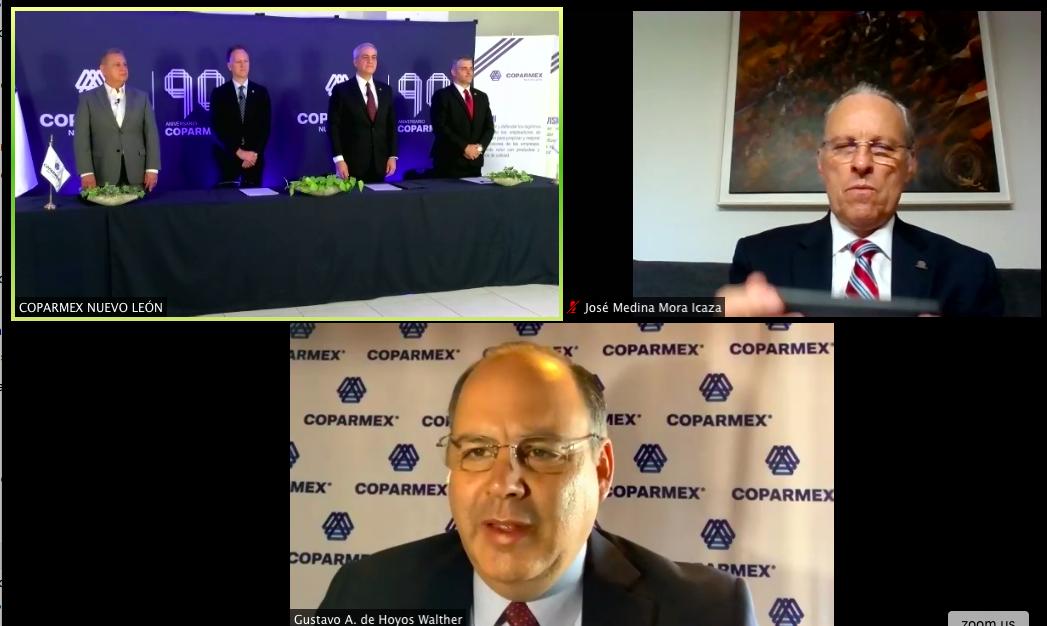 WTC_Mty Felicita a Coparmex