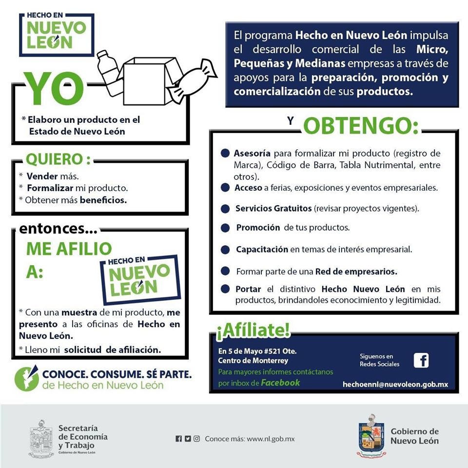 Afiliada Hecho en Nuevo León