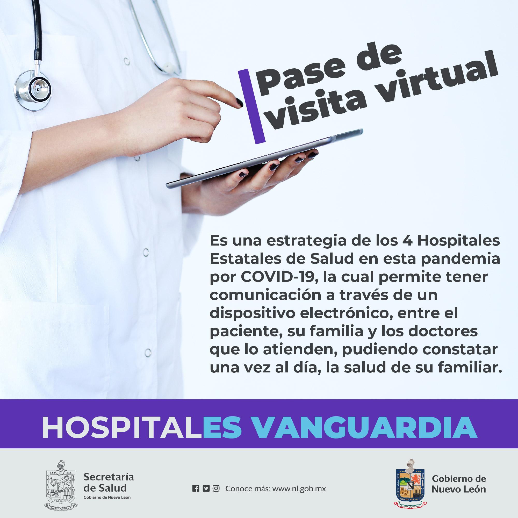 Pase de visita Virtual