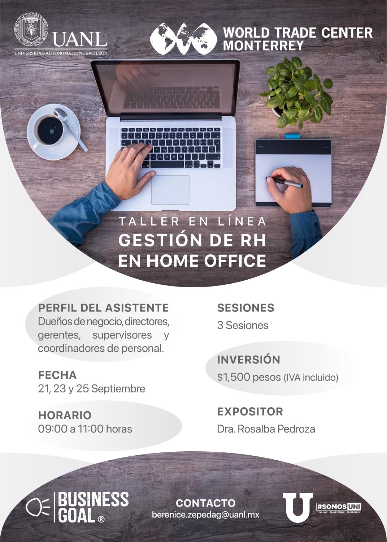 Taller: Gestión de RH en Home Office
