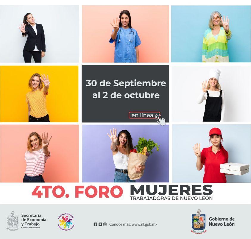 4to Foro Mujeres Trabajadoras NL