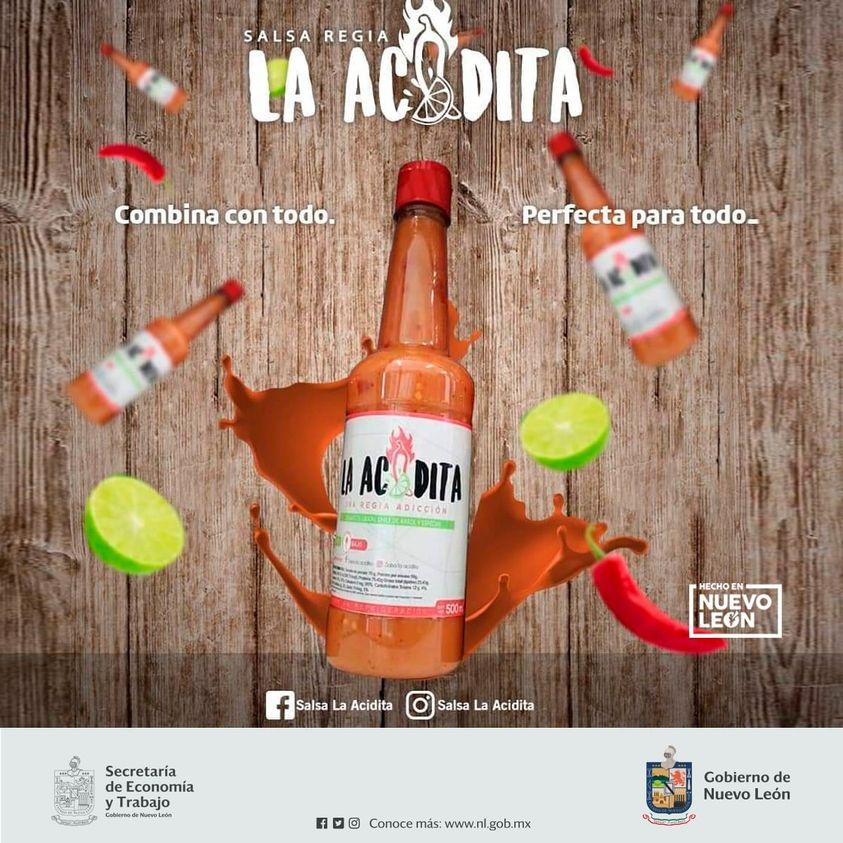 Hecho en NL -Salsa Regia Acidita