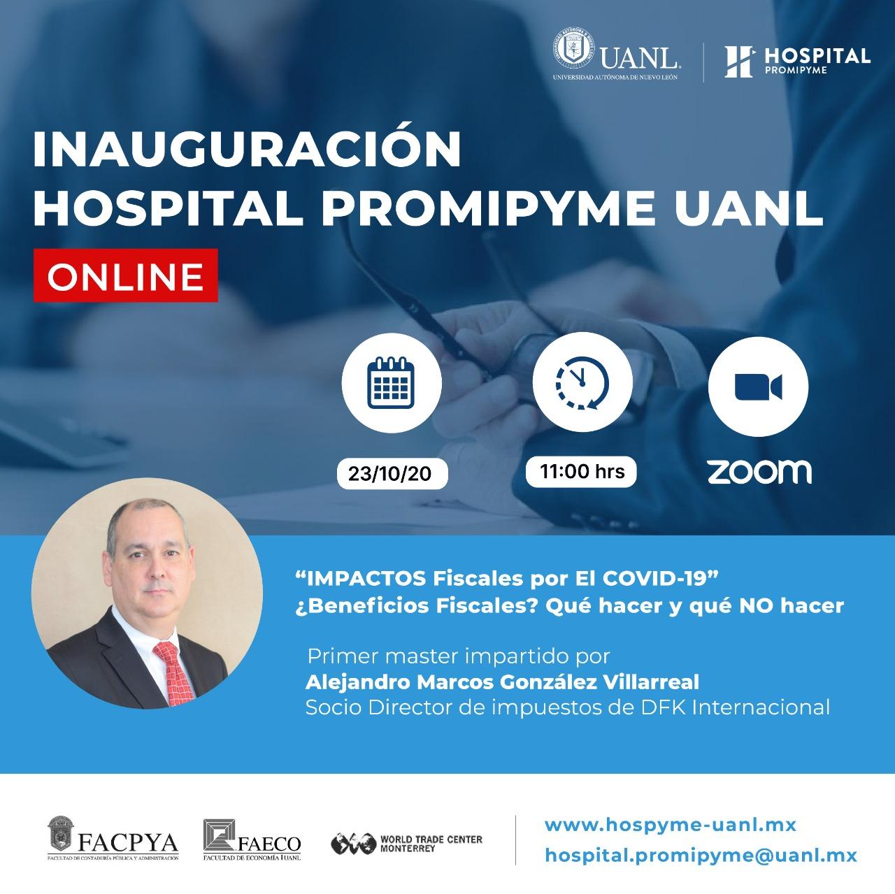 Inauguración del Hospital ProMiPyme