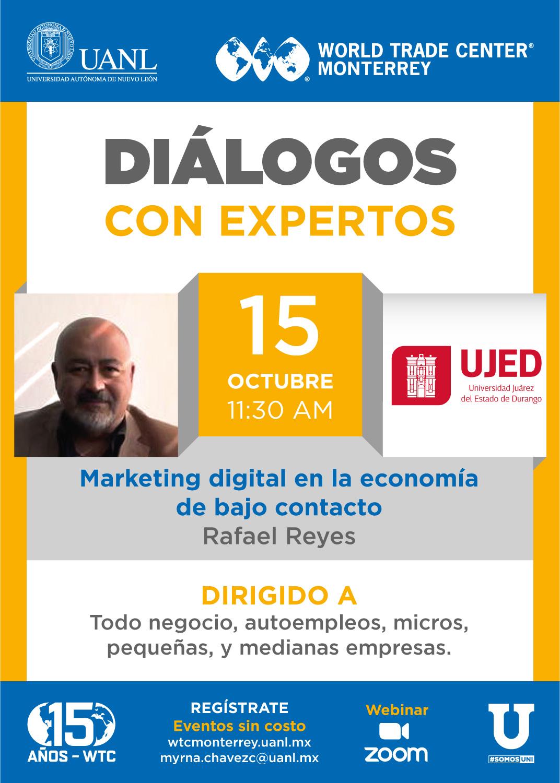 Diálogos con Expertos -Marketing digital en la economía de bajo contacto