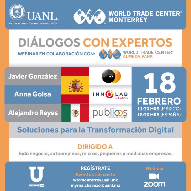 Diálogos con Expertos -Soluciones para la Transformación Digital