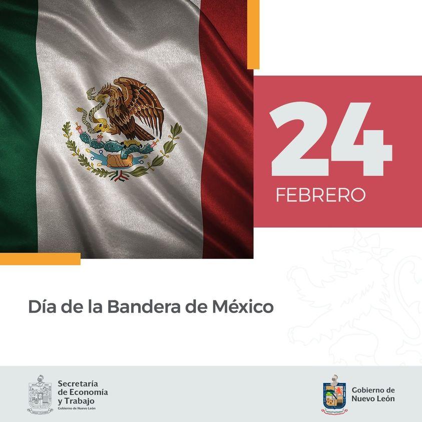 Día de la Bandera México