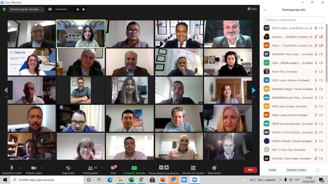 Primer encuentro virtual empresarial en el WTC DAY Latinoamérica 2021