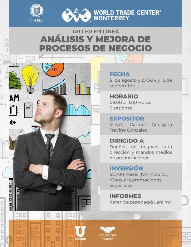 Taller: Análisis y Mejora de procesos de negocio