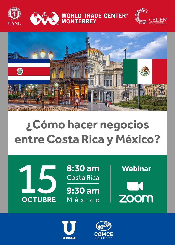 Diálogos con Expertos -¿Cómo hacer negocios entre Costa Rica y México?